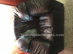Vendo sillón de piel