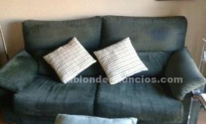 Vendo sofá verde en muy buen estado