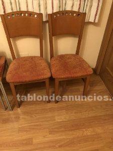4 sillas de comedor