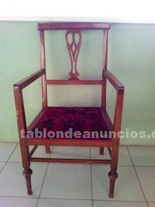 Conjunto muebles isabelinos