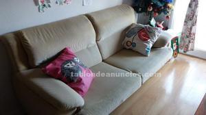 Se vende sofa tres plazas y butaca individual