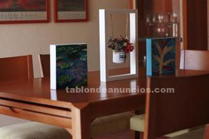 Conjunto mesa-comedor y 6 sillas