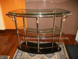 Barra de bar de cristal para sala de estar