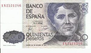Billete de 500 pesetas