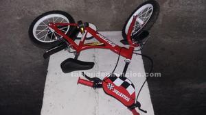 Bicicleta niño a estrenar