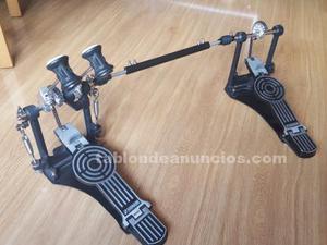 Doble pedal de bombo sonor zurdo