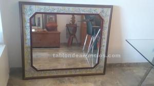 Espejo clasico mallorquin de madera