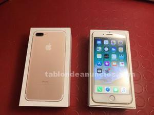 En venta iphone 7 plus gold 128 gb