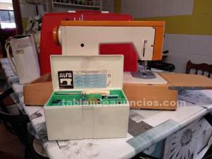 Vendo máquina de coser alfa, con accesorios originales