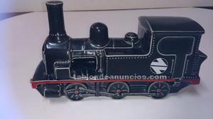 2 trenes de cerámica