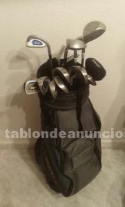 Juego de palos de golf con bolsa de trasporte