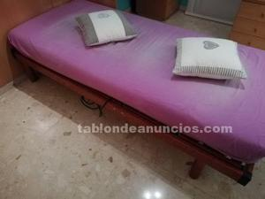 Somier articulado eléctrico con colchón