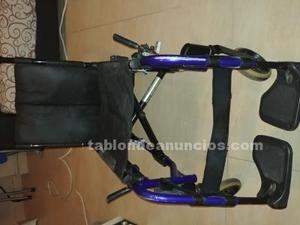 Vendo silla de ruedas plegable action3 xtra de invacare