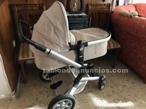 Cochecito bebe (silleta y capazo) + silla coche homologada