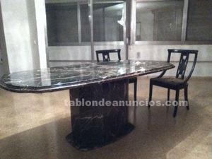 Mesa de marmol grande para 8 sillas