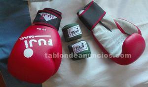Se vende saco de boxeo azul 100x35 profesional (con relleno