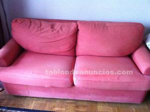 Sofá cama 3 plazas 190 cm largo