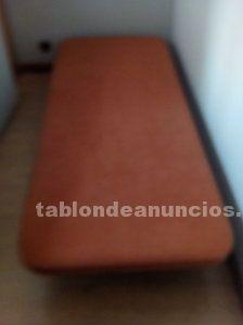 Canapé y cama individual 1,90x80
