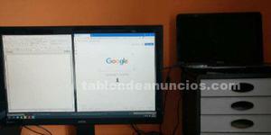 Portátil toshiba i7 + monitor