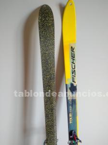 Equipo completo de esqui de travesia, skimo