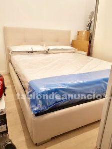 Cama (estructura + colchón + cabecero)