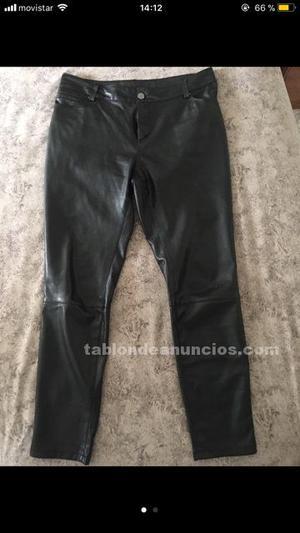 Pantalon mujer de cuero