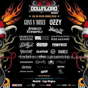 Abono 3 días download festival