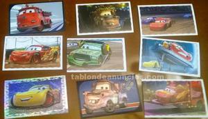 Cromos de coches cars 3 disney pixar