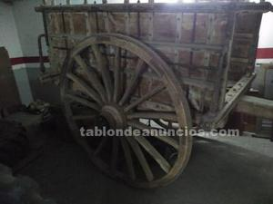 Carro antiguo madera
