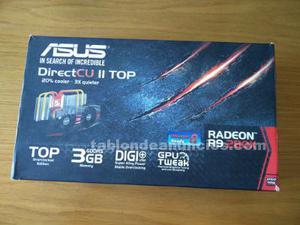 Vendo tarjeta gráfica asus radeon rx-dc2t-3gd5