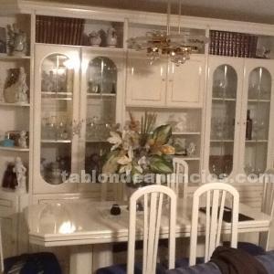 Mueble salón mesa y 6 sillas