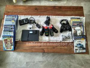 Play station 2 con accesorios y juegos