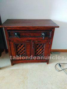 Vendo mueble bajo en madera