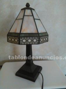 Dos lamparas de mesa de tiffanys