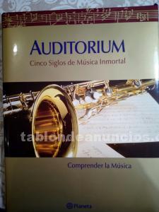 """Enciclopedia de música """"auditorium"""" planeta"""