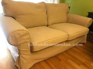 Sofa dos plazas modelo ektorp de ikea