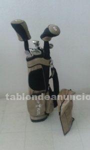 Juego de palos de golf mujer