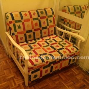 Mesa comedor extensible y sofá-cama