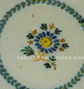 Plato de ceramica antigua