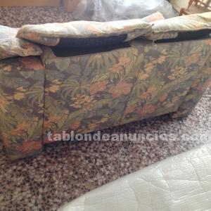 Sofá vintage de dos plazas