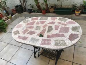 Mesa de jardín o terraza