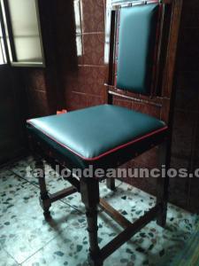 6 sillas antiguas, consideradas antigüedades