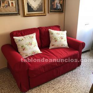 Vendo sofá cama rojo