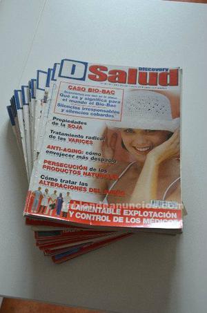 Lote de revistas discovery salud