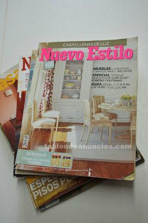 Revistas de hogar y decoración
