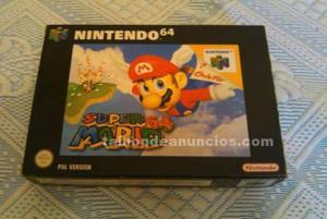Nintendo 64 - super mario 64