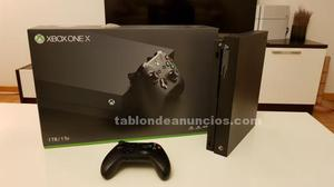 Vendo consola xbox one x
