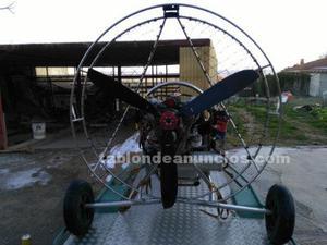 Equipo paramotor completo, trike+parapente+paracaidas