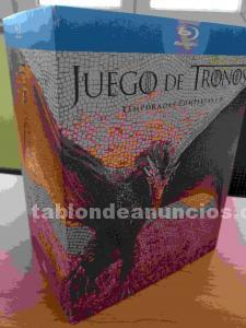 Se vende juego de tronos t1 a 6 en blu-ray