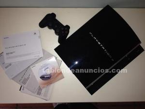 Play station 3 +mando inhalambrico + play tv
